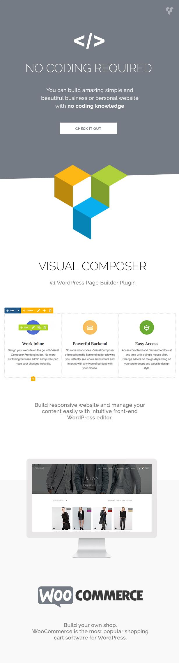 Pheromone - Creative Multi-Concept WordPress Theme - 3